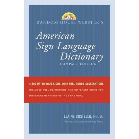 Compact American Sign Language Dictionary
