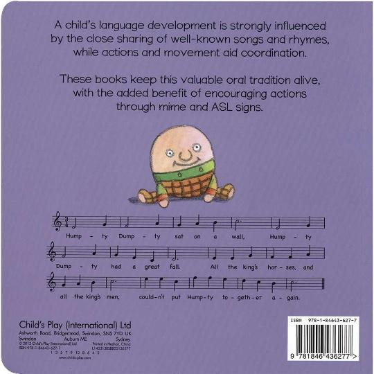 Hands-On Songs: Humpty Dumpty Board Book