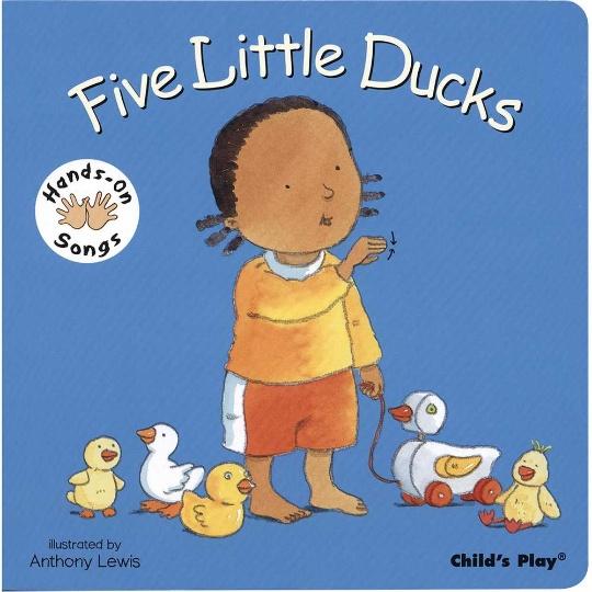 Hands-On Songs: Five Little Ducks Board Book