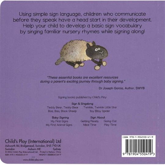 Sign & Singalong: Baa, Baa, Black Sheep! Board Book