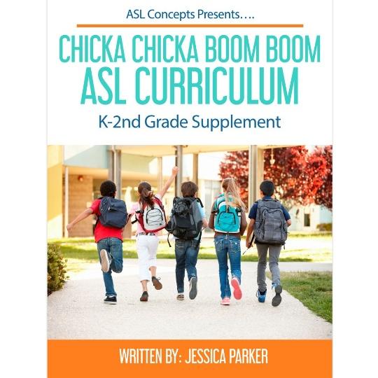 Chicka Chicka Boom Boom ASL Curriculum