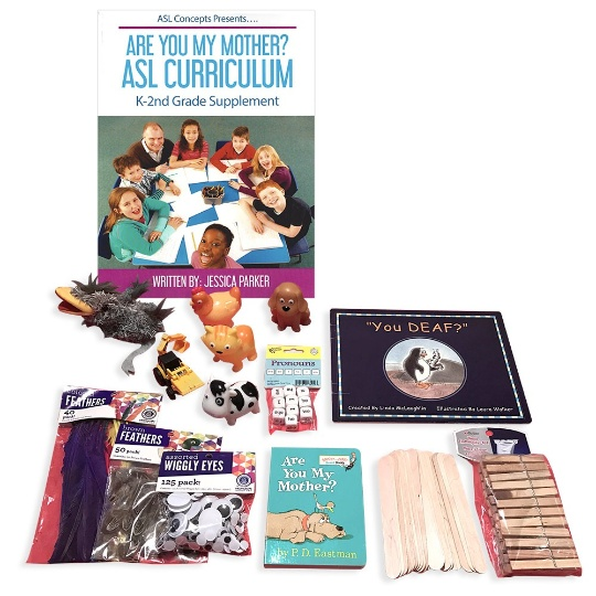 Are You My Mother? ASL Curriculum with Teaching Props