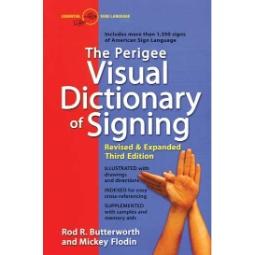 Perigree Visual Dictionary of Signing