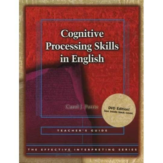 Effective Interpreting: Cognitive Processing Skills in English (Teacher)