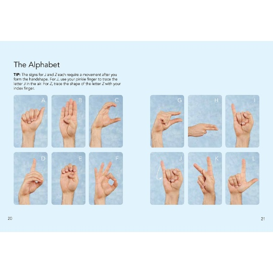 American Sign Language - Learn to Sign the Alphabet, Numbers, Useful Words and Phrases