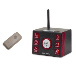 Clarity AlertMaster AL12 Receiver with Doorbell Transmitter