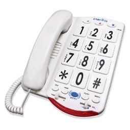 Clarity JV35W Amplified Braille Phone