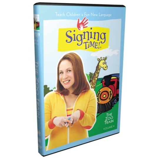 Signing Time Series 1: Zoo Train DVD 9