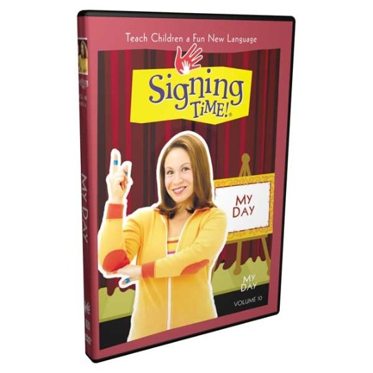 Signing Time Series 1: My Day DVD 10