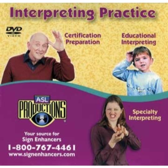 Sign Enhancers ASL Grammatical Aspects DVD
