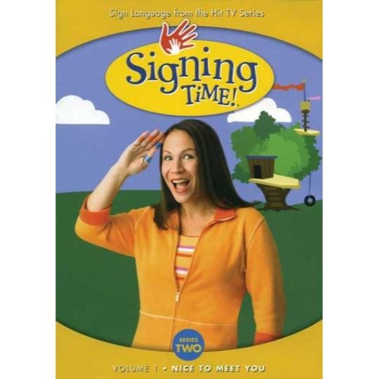 Signing Time Series 2 Vol 1: Nice to Meet You DVD