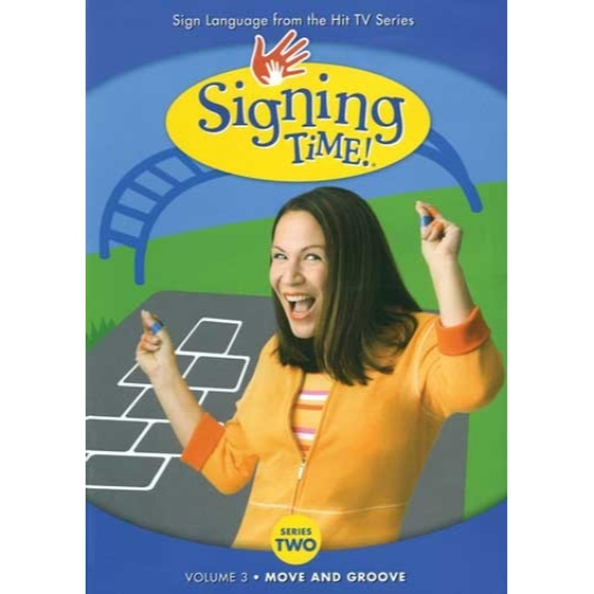 Signing Time Series 2 Vol 3 : Move and Groove DVD