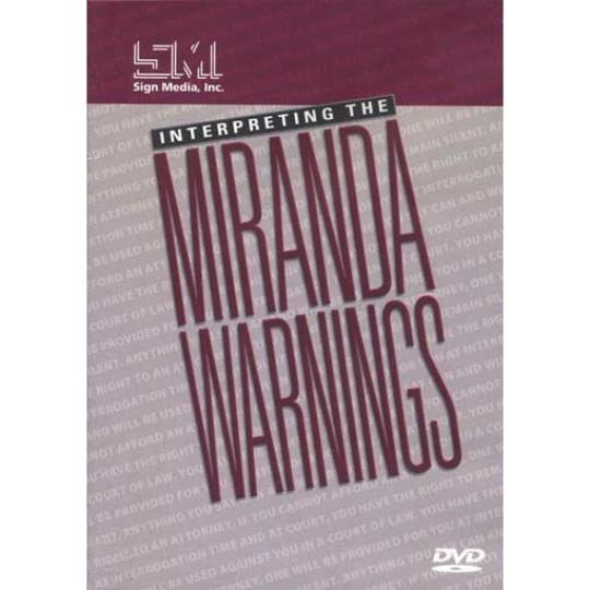 Interpreting the Miranda Warnings