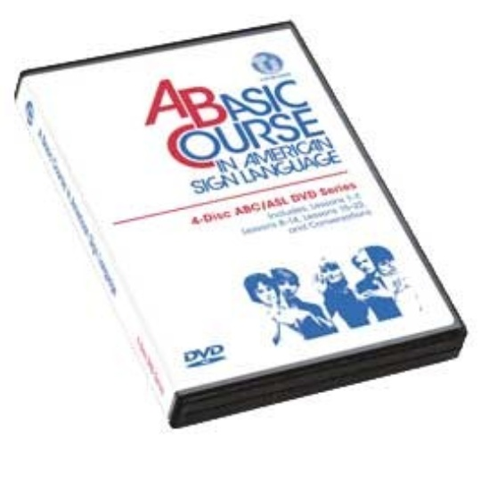 A Basic Course in American Sign Language: ABC / ASL Series 4-DVD Set