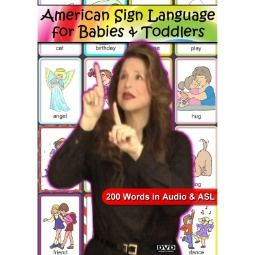 American Sign Language for Babies and Toddlers DVD
