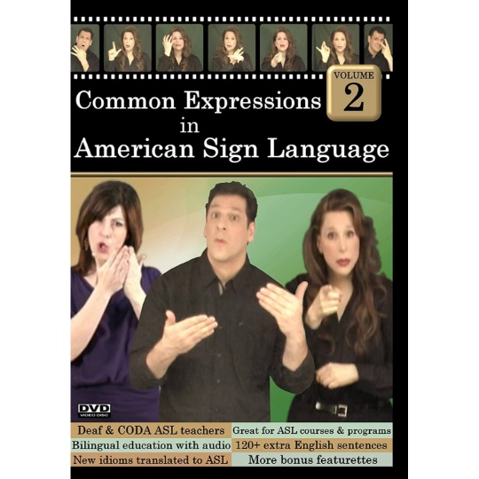 Common Expressions in American Sign Language  Vol. 2