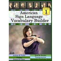 ASL Vocabulary Builder  Vol. 1