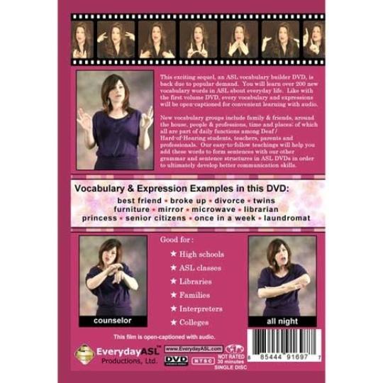 ASL Vocabulary Builder  Vol. 2