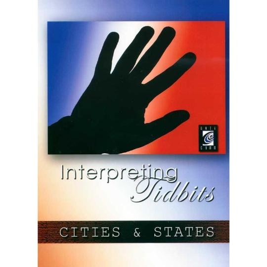 Interpreting Tidbits: Cities and States
