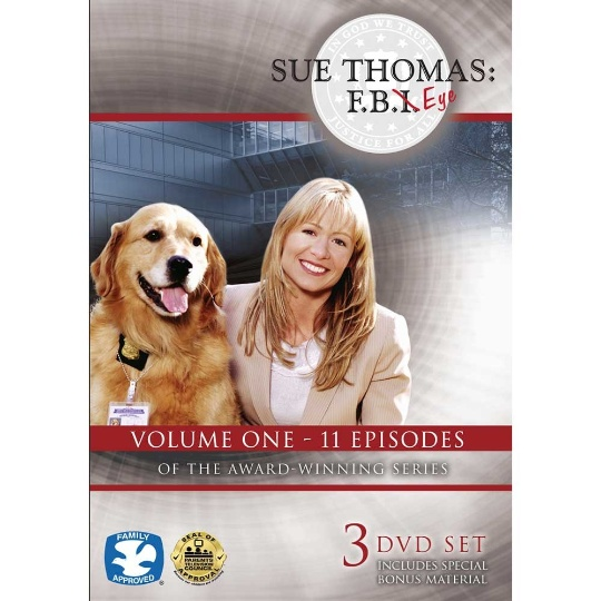 Sue Thomas: F.B.Eye Volume 1 3-DVD Set