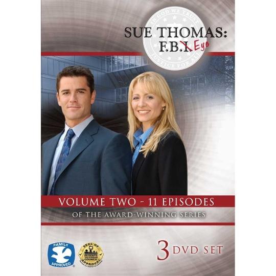 Sue Thomas: F.B.Eye Volume 2 3-DVD Set
