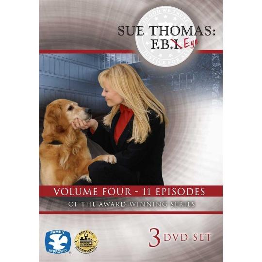 Sue Thomas: F.B.Eye Volume 4 3-DVD Set