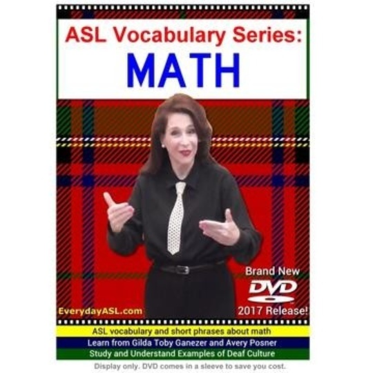 ASL Vocabulary Series: Math