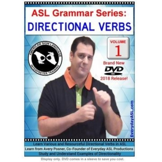 ASL Grammar Series: Directional Verbs  Vol. 1
