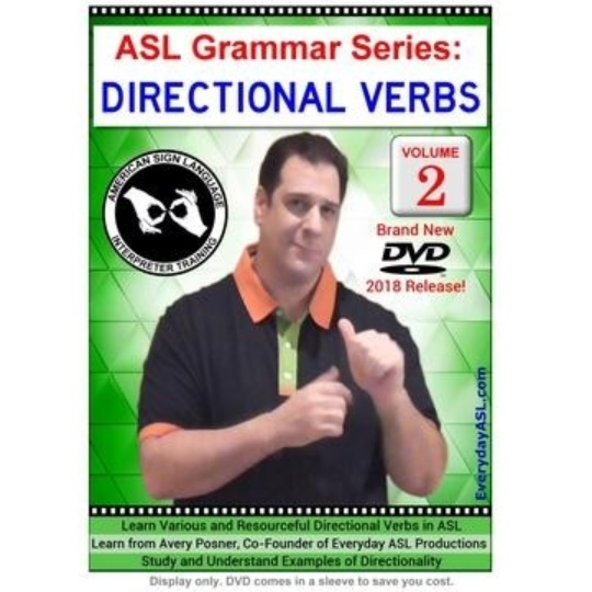 ASL Grammar Series: Directional Verbs  Vol. 2
