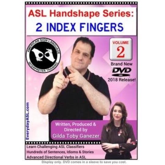 ASL Handshape Series: 2 Index Fingers  Vol. 2