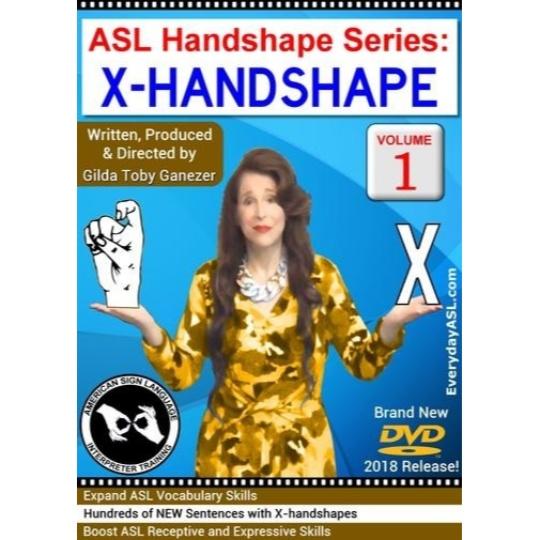 ASL Handshape Series: X-Handshape  Vol. 1
