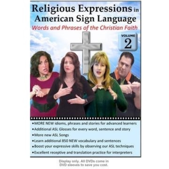 Religious Expressions in ASL  Vol. 2