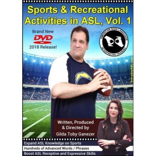 Sports & Recreational Activities in ASL  Vol. 1