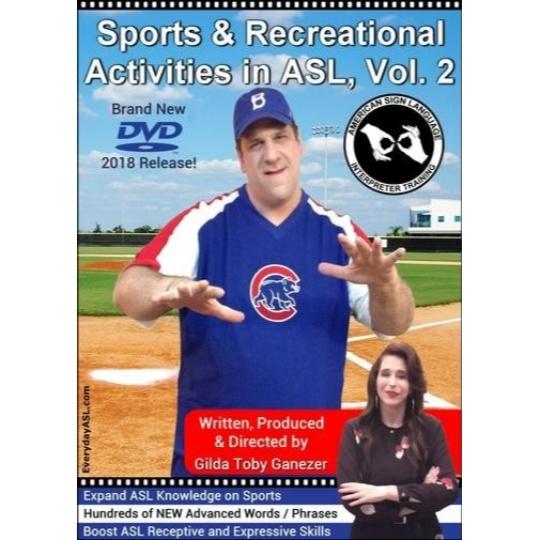 Sports & Recreational Activities in ASL  Vol. 2