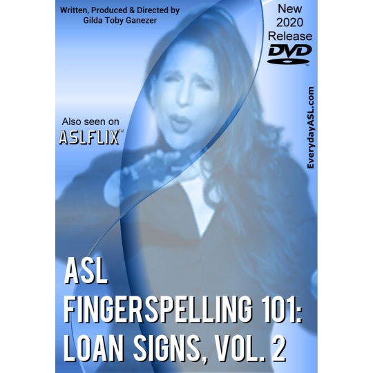 ASL Fingerspelling 101: Loan Signs  Vol. 2