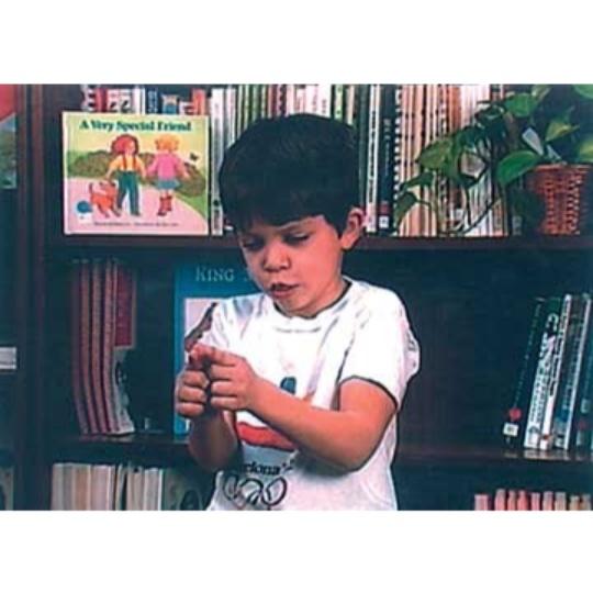 Sign Enhancers Practice with Children: Deaf Children Signers