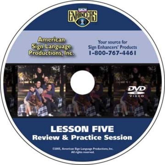Sign Enhancers Beginning ASL VideoCourse 5: Review