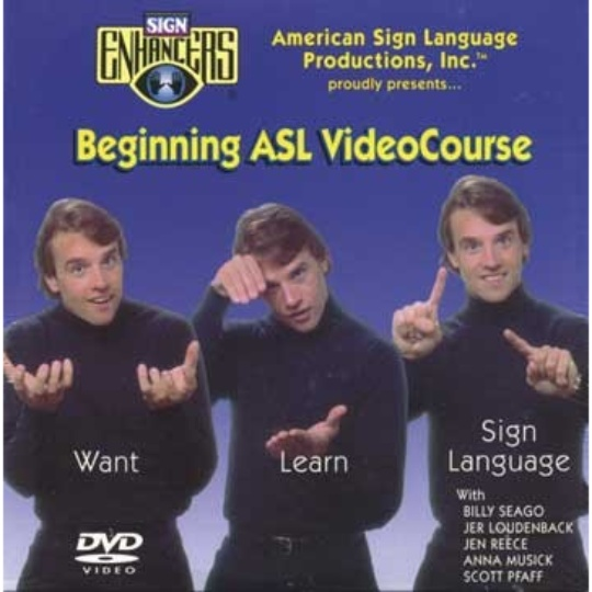 Sign Enhancers Beginning ASL VideoCourse 6: Read Any Good Fingers Lately?