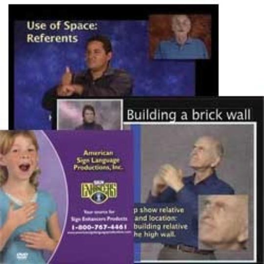 Sign Enhancers Video Tutorial 2-DVD Set