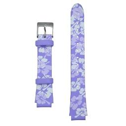 Global VibraLITE MINI Purple Flower Replacement Watch Band