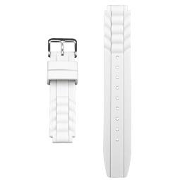 Global VibraLITE MINI White Replacement Watch Band