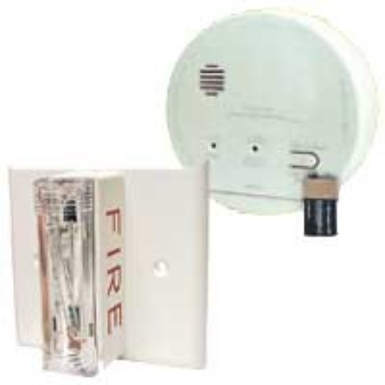 Gentex GN-503F Hard Wired T3 Smoke / T4 Carbon Monoxide Photoelectric Alarm with Ceiling Strobe