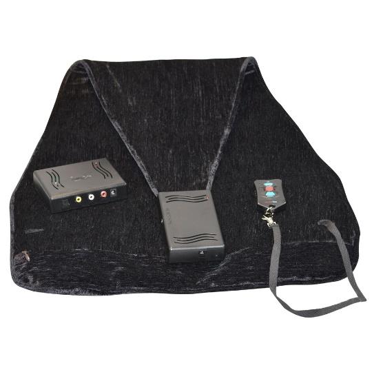 Audio Fox Undercover Black Wireless TV Speakers