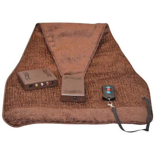 Audio Fox Undercover Brown Wireless TV Speakers