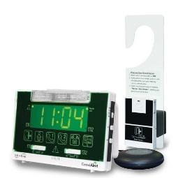 Serene Innovations CentralAlert CA-360H Clock / Receiver Notification System with Door Sensor