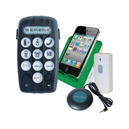 Serene Innovations CentralAlert CA-380 Wearable Notification System