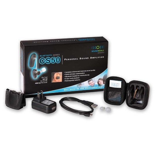 Sound World Solutions CS50+ Personal Sound Amplifier - Left Ear