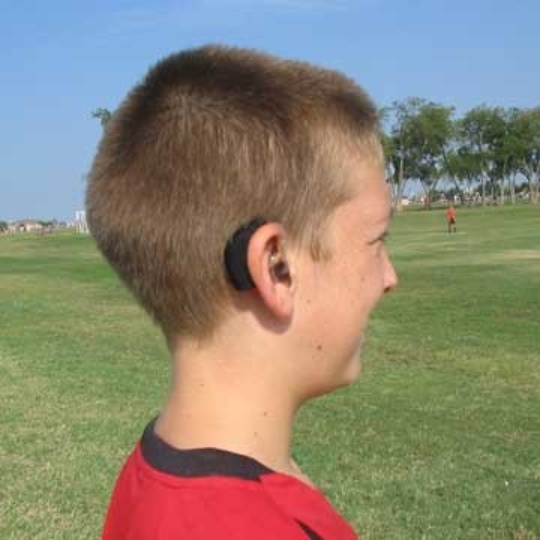 Ear Gear Mono Corded Cochlear Implant Cover