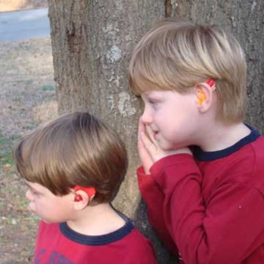 Ear Gear Binaural Cordless Cochlear Implant Cover