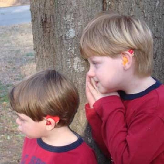 Ear Gear Mini Curved Binaural Cordless Hearing Aid Cover